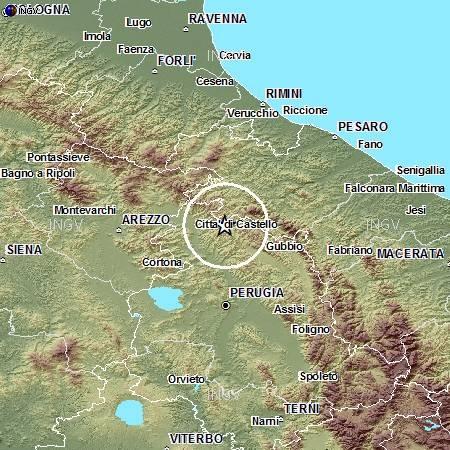 Terremoto nel Metauro: scossa 3.1 tra Umbria e Marche
