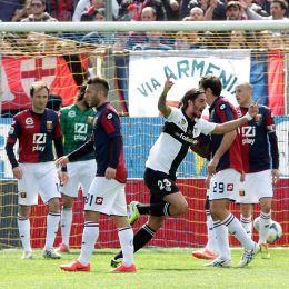 Video gol e pagelle, Parma-Genoa 1-1: Cofie e Schelotto gol nel lunch match (Ansa)