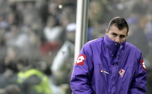 Bobo Vieri, a fine carriera,  ai tempi della Fiorentina (LaPresse)
