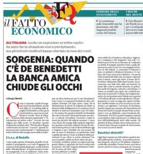 """Sorgenia """"Caporetto di Rodolfo De Benedetti Carlo padre pontifica"""" Fatto crudele"""