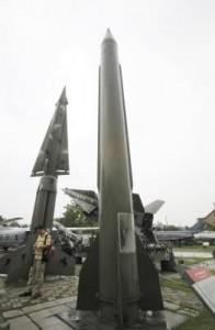 Missili in Corea del Nord (Foto Lapresse)