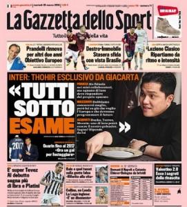 """Inter. Erick Thohir, intervista Gazzetta: """"Mercato? Dzeko, Torres o Morata"""""""