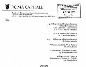 Roma, acqua contaminata: divieto uso Municipi XIV e XV (ordinanza con tutte le strade)