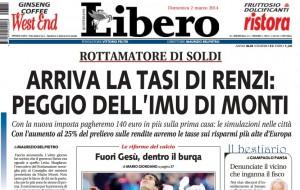 La Tasi di Renzi, peggio di Monti. Maurizio Belpietro su Libero