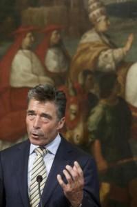 "Rasmussen (Nato): ""Mosca sta violando principi Carta Onu"""