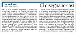"""Massimo Gramellini, Buongiorno sulla Stampa: """"Ci disegnano così"""""""