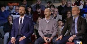 """PiazzaPulita, Lorenzo Battista contro Messora: """"Guadagna più dei parlamentari"""""""
