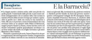 """Massimo Gramellini, Buongiorno sulla Stampa: """"E la Barracciu?"""""""