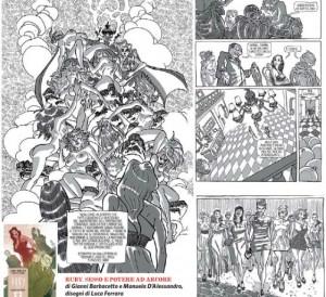 """""""Ruby. Sesso e potere ad Arcore"""", la storia a fumetti del bunga-bunga"""