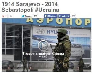 """Crimea, Beppe Grillo: """"Se Putin interviene potrebbe scoppiare incendio, come nel 1914"""""""