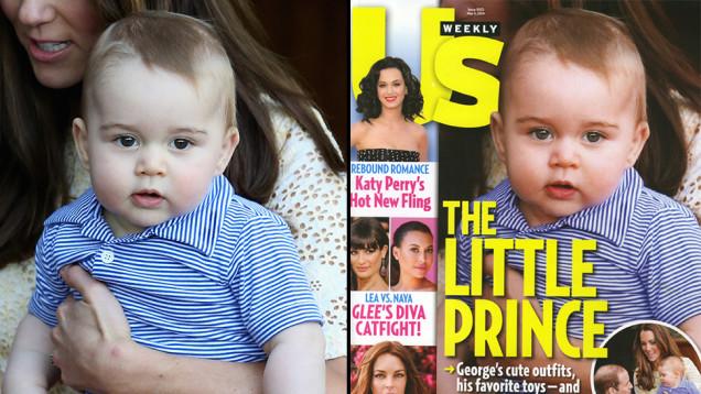 Royal baby George al photoshop: Us Weekly sotto accusa (foto)