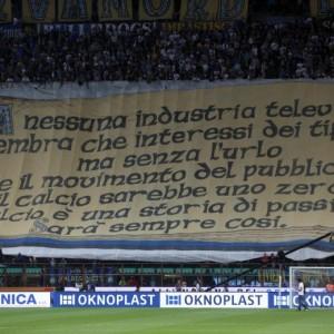 Inter-Napoli, Curva Nord cori anti-napoletani: rischio chiusura (Ansa)