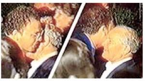 Guarda la versione ingrandita di Alfano e il bacio al boss Croce Napoli