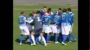 Montenegro, Fukui Masato gol da 60 metri (video)