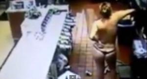 Florida, entra col perizoma al McDonald's