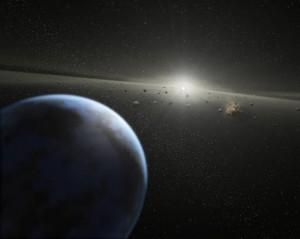 """Futuro della Terra? E' scritto nei frammenti rocciosi che """"inquinano"""" le stelle"""