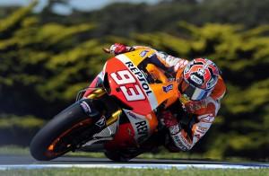 Moto, Gp of the Americas: Marquez fa pole e record, Valentino Rossi sesto (LaPresse)
