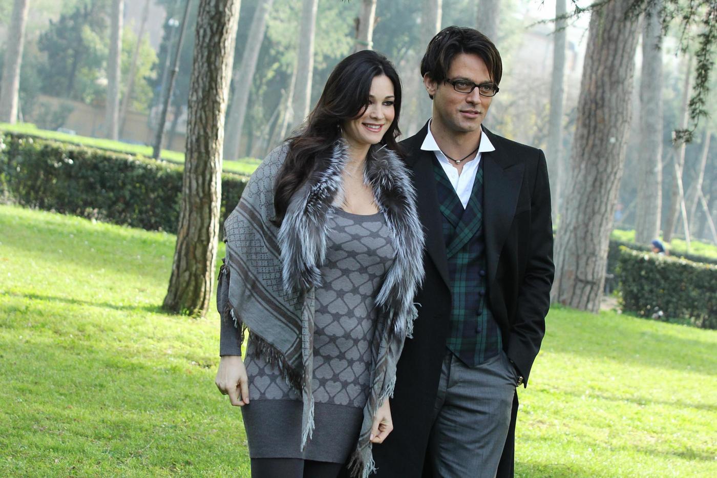 Gabriel Garko con Manuela Arcuri (Lapresse)
