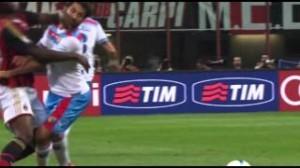 Milan-Catania (foto da video)