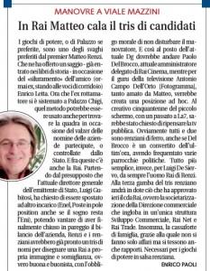 Rai. Paolo Del Brocco nuovo dg, Antonio Campo Dell'Orto stratega