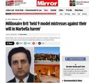 Shoja Shojai, il milionario con l'harem (The Mirror)