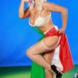 Marika Fruscio nuda per la Nazionale