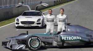 Hamilton ha vinto in Spagna su Mercedes (foto Ap/LaPresse)