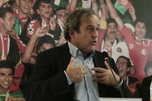 Fair play finanziario, il cavallo di battaglia del presidente della Uefa Michel Platini (LaPresse)