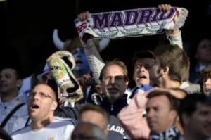 Notte di festa a Madrid per tifosi del Real  (LaPresse)