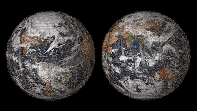 Il mega selfie mondiale realizzato dalla Nasa con 36mila foto