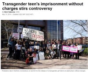 """Transgender incarcerata perché ritenuta """"pericolosa per se stessa e gli altri"""""""