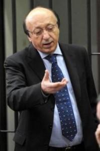 """Luciano Moggi: """"Calciopoli? Distacco Inter prova che è una barzelletta"""" (LaPresse)"""