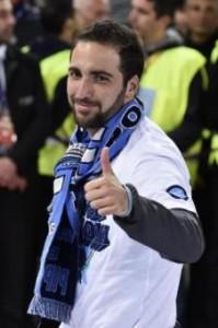 Napoli-Cagliari: Higuain, Albiol e Behrami assenti per infortunio (LaPresse)