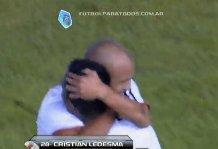 River Plate, Cristian Ledesma in lacrime dopo suo primo gol (video)