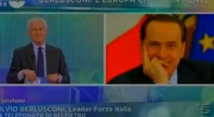 Berlusconi: A Bruxelles stanno allargando i cessi per Grillo (video)