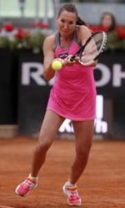 Jelena Jankovic sfida Sara Errani (LaPresse)