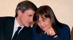 Gianni Alemanno e Renata Polverini