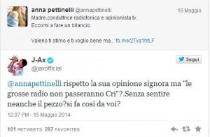 """Anna Pettinelli: """"Chi passerebbe Suor Cristina Scuccia, Radio Maria?"""". E J-Ax..."""