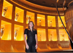 Barbara Berlusconi presenta 'Casa Milan'