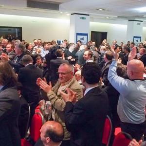 """""""Sono tra quelli che hanno applaudito a Rimini i tre colleghi condannati per reato colpo in seguito alla tristissima vicenda della morte di Federico Aldrovandi"""" ha detto Luca Caprini."""