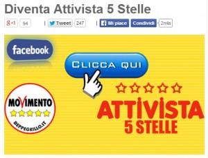 Beppe Grillo offre la cena ai primi 100 attivisti M5s: come ottenere i punti