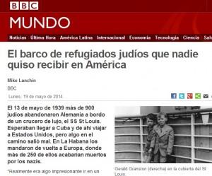 Guarda la versione ingrandita di L'articolo apparso su BBC Mundo