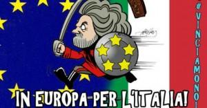 """Roubini: """"Se vince Beppe Grillo la Bce i soldi non ce li mette più"""""""