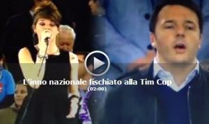 """Blog Beppe Grillo: """"La Repubblica è morta"""". Video inno di Mameli fischiato"""