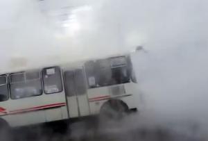 Russia, tubo dell'acqua bollente si rompe