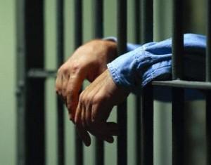 Man Behind Bars
