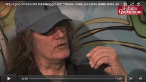 L'intervista di Marco Travaglio a Gianroberto Casaleggio (fonte Il Fatto Quotidiano)