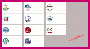 Elezioni Europee 2014, Circoscrizione Centro: candidati e liste