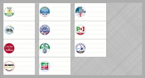 Elezioni Europee, Circoscrizione Nord-Ovest: candidati e liste
