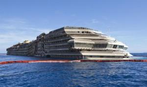 La Costa Concordia (Foto Lapresse)
